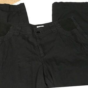 Only Necessities black cargo pants
